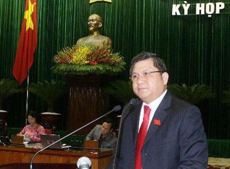 Chủ nhiệm Ủy ban Kinh tế Nguyễn Văn Giàu. Ảnh: TTXVN