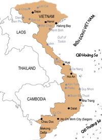BẢN ĐỒ VIỆT NAM - VIETNAM MAP