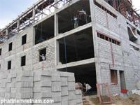 Gạch xây không nung, xây nhà bằng gạch không nung, mua bán gạch không nung, sản xuất gạch không nung, gạch block, gạch xi măng, gạch bê tông, gạch xây không nung