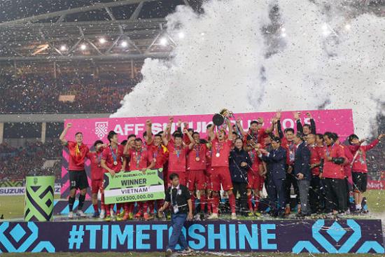 Việt Nam nâng cúp vô địch Đông Nam Á lần 2 - Suzuki Cup 2018