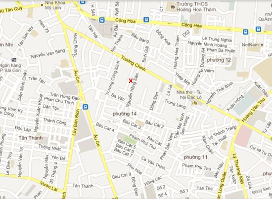 địa chỉ công ty Phát Triển Việt Nam - 54/17 Nguyễn Hồng Đào, P.14, Q. Tân Bình, Tp Hồ Chí Minh